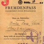 Nazi Alien passport