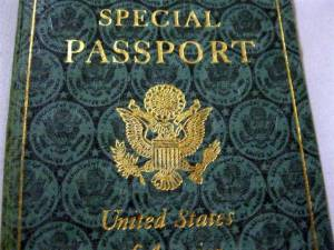 US-Special Passport 1945