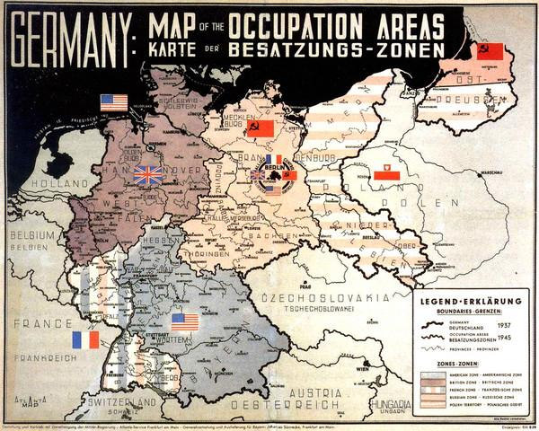 ALLIED MILITARY TRAVEL PERMITS FOR GERMANY 1947-1951