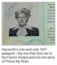 A Collectors Story – Rita Hayworth