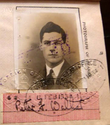The Passport Of Peter Walker