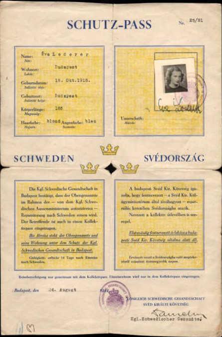 Eva Lederer Schutzpass
