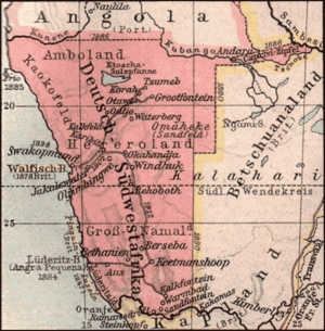 Southwest Africa Map.The Identification Tags Of German Southwest Africa 1884 1915