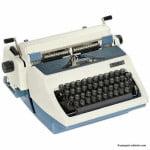 Typewriter Erika 1970s