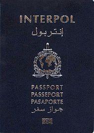 INTERPOL TRAVEL DOCUMENT