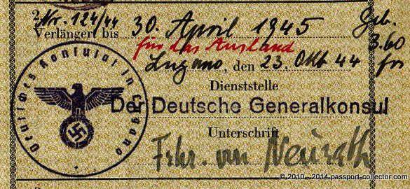 Konstantin Alexander Freiherr von Neurath