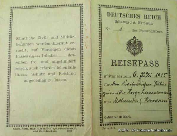 KR_Kamerun 1915