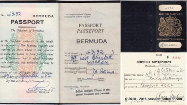 British Bermuda 1962