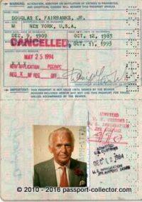 Douglas Fairbanks Jr 1983