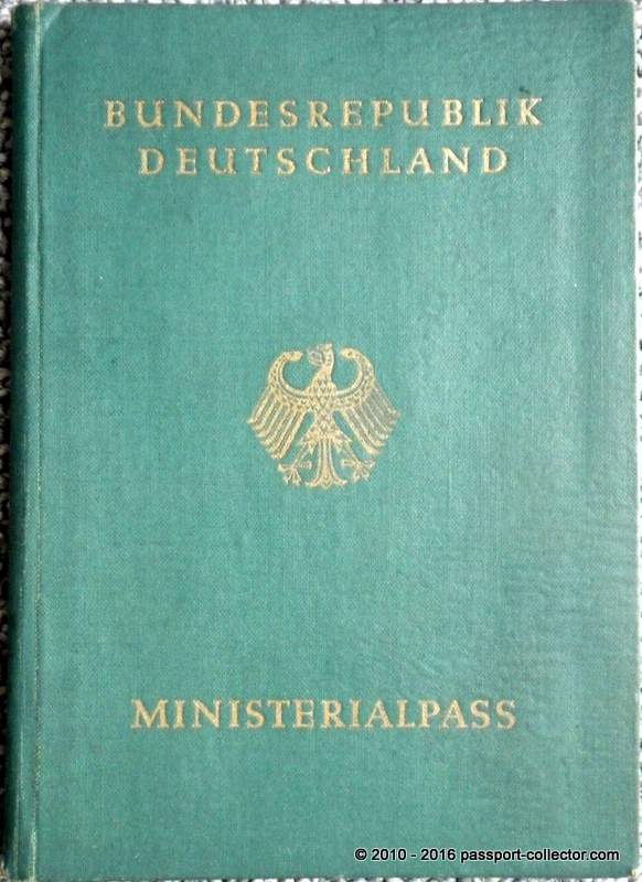 germany-ministerial-pass-1951-new-york