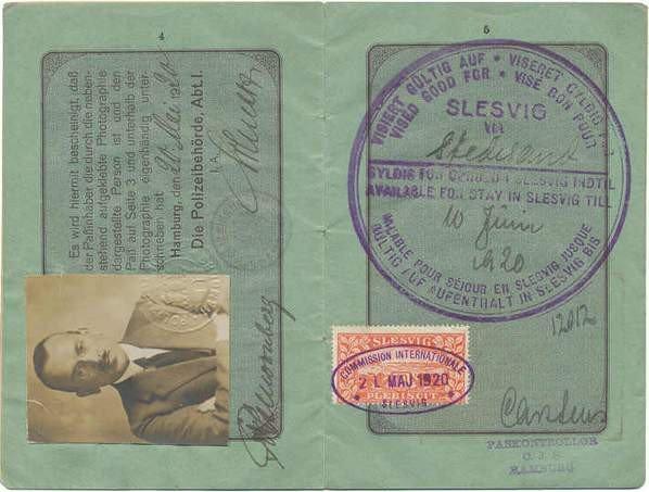 Hamburg 1920 Slesvig revenue-002