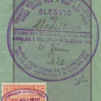 Hamburg 1920 Slesvig revenue-003