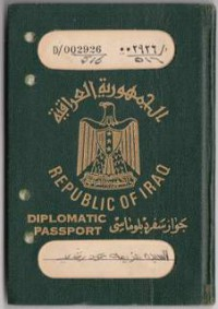 Iraq Diplomatic Family 1976