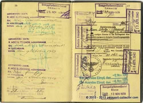 Ministerialpass Schulze-Bernett 1938-004