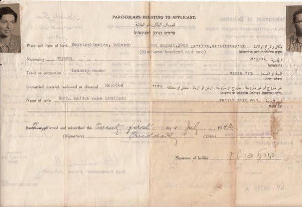 Palestine Naturalization 1942-001