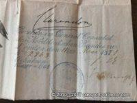 British Passport 1869
