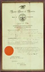 Should you frame a historical passport and if so, how?