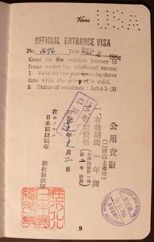 USA Hawaii Teritorry 1954g