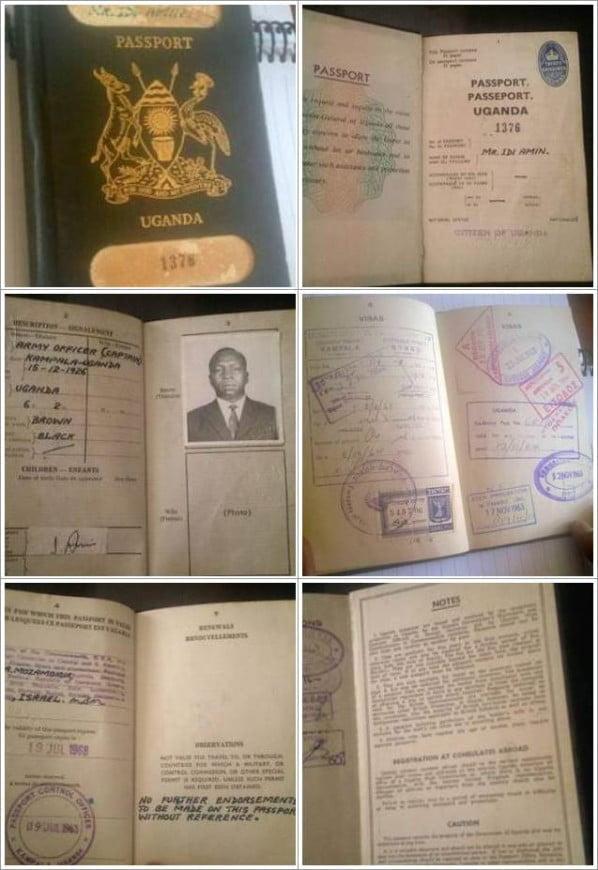 Uganda Idi Amin 1963