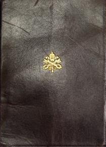 Vatican passport cover