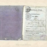 Haiti passport 1930