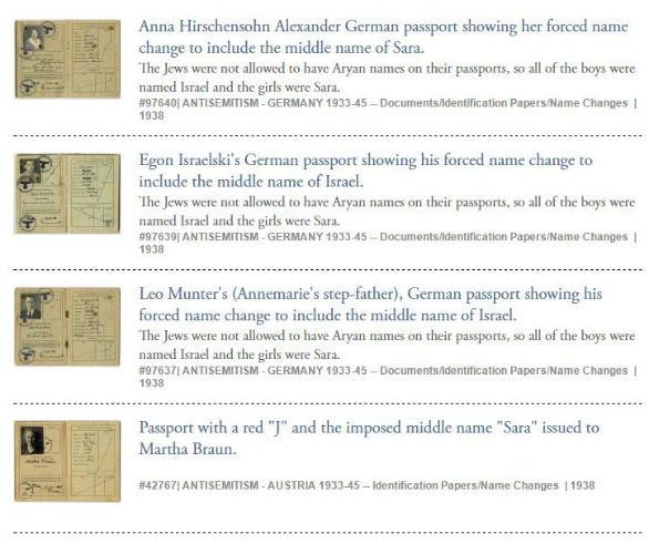 Passport Pictures At The United States Holocaust Memorial Museum