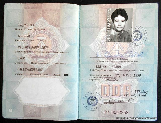 Gisela Pelzl – A GDR Sports Physician Passport