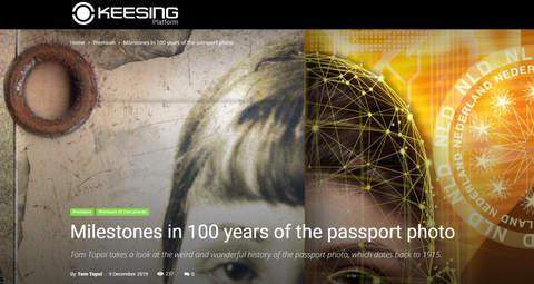 100 Years Passport Photo