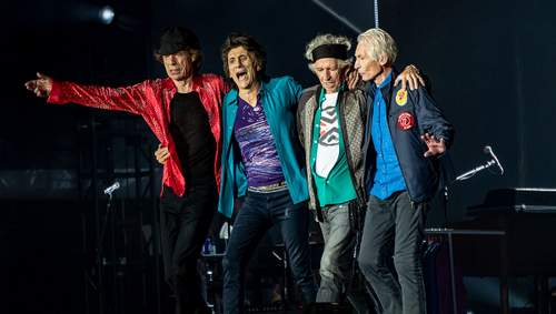 Passports of the legendary Rolling Stones