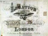 Beautiful US Passport 1886, Legation London With Several Russian Visa