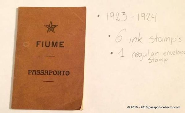 Fiume passport