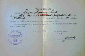 """J"" Stamp and Jewish Names in German Passports"