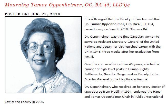 Dr. Tamar Oppenheimer