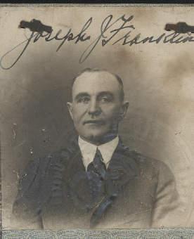 Joseph John Franklin United States Diplomatic Passport
