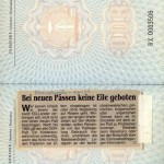 East German passports were still valid after Germany's reunification