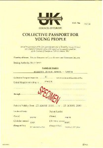 Collective Passport For Young People In The United Kingdom