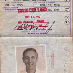 Another outstanding passport - Moon walker Charlie Duke