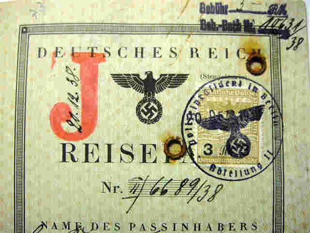 "RARE ""J"" STAMPED PASSPORTS"
