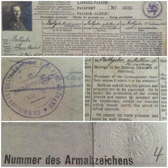 Passport – International Permanent Armistice Commission