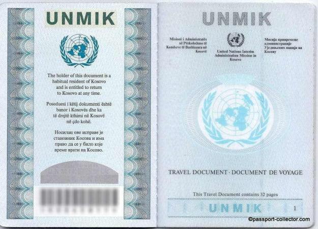 UNMIK 2001 & 2007 B-001-r100
