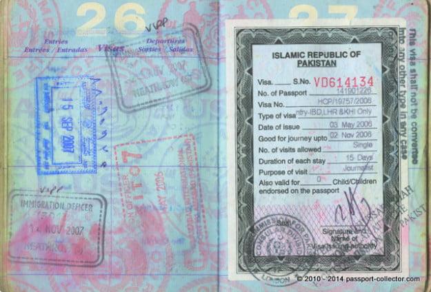 The Passport Of A Tireless War Correspondent