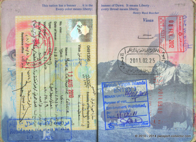 The Passport Of A Tireless War Correspondent