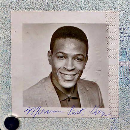 Marvin Gaye's Passport 1964 Found Inside An Album
