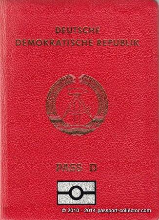 East German Biometrics & US Passport Playing The National Anthem