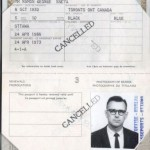 Martin Luther King - The fake passport used by James Earl Ray