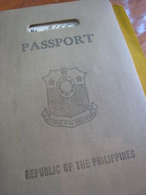 A Fifty Year Old Passport…