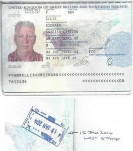 Richard Ellis's Life Passports
