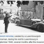 Nazi Germany Passport issued at the German Embassy in Luxembourg