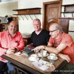 Passport Collectors Meeting in Zurich at Cafe Sprüngli