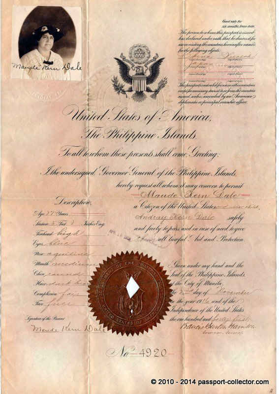 US History – Philippines Islands Passport
